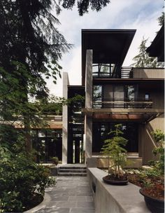House Design, Modern Design, Olson Kundig Architects - Projects - Bird Watchers' House