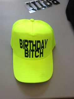 672391d4fa2 Design your own custom neon trucker hat. This trucker hat is all the rage  and comes in the best neon colors  neon green