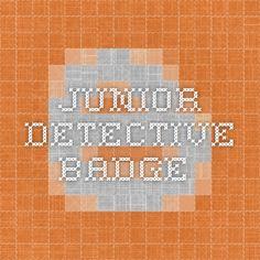 junior detective badge
