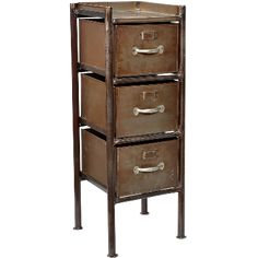 Cabinet in a raw design and with a cool finish. This cabinet will add a contrast to any classic decoration. cm x cm x cm www. Tidy Up, Declutter, Filing Cabinet, The Hamptons, Drawers, Furniture, Cool Stuff, Storage, Design