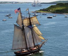 Tall Ships coming to Pictou, Nova Scotia, July 28th & 29th, 2012. See you at the waterfront.