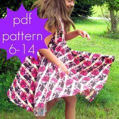 Downloadable Robe Pattern | Found on fairytalefrocksandlollipops.com