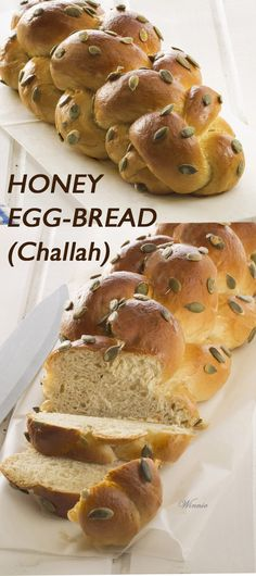 Best Challah Or Other Rich Egg Bread Recipe on Pinterest