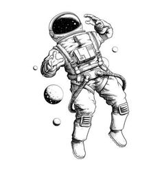 Buy BAOFULI Men Black Waterproof Temporary Tattoo Astronaut Children Universe Series Fake Arm Tatoos Body Art Cartoon Tattoo Sticker at nabitoo com! Ship to 185 countries Buyer protection Secured Payment - pencil-drawings Astronaut Tattoo, Astronaut Drawing, Astronaut Illustration, Space Illustration, Tattoo Illustration, Space Drawings, Art Drawings, Pencil Drawings, Henna Tattoo Muster
