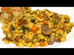 Risotto, Nom Nom, Bacon, Food And Drink, Favorite Recipes, Meals, Ethnic Recipes, Youtube, Meal
