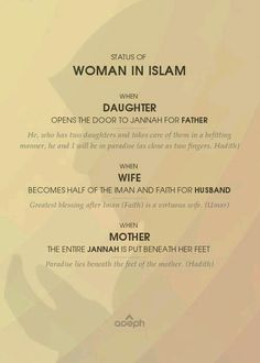 """""""Study Islam from the right sources. Don't believe the mainstream media lies"""" Islam appreciates women more than any other religion nor person did or even will. Allah Islam, Islam Hadith, Islam Muslim, Islam Quran, Alhamdulillah, Duaa Islam, Hadith Quotes, Allah Quotes, Muslim Quotes"""