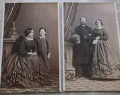 2 cdvs same woman by Germon's Philada in Collectibles, Photographic Images, Vintage & Antique (Pre-1940), CDVs | eBay