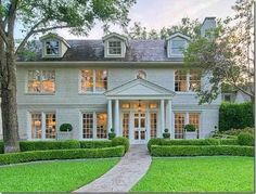 Painted brick. Southern perfection.