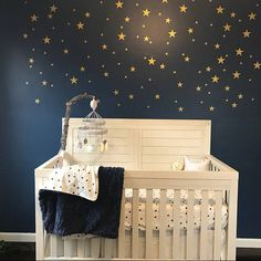 Excited to share this item from my shop: Star wall decals nursery wall decals 34 total stars. Galaxy Nursery, Sky Nursery, Space Themed Nursery, Nursery Wall Decals, Nursery Themes, Nursery Room, Outer Space Nursery, Baby Boy Rooms, Baby Boy Nurseries