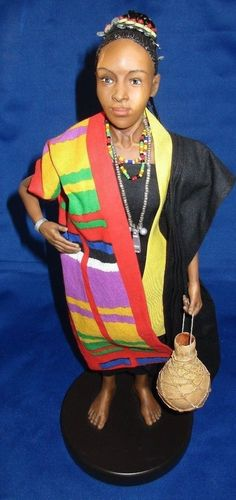 Makeba Doll by Richard Simmons Collection of the Masters / Kwanzaa Xmas Birthday