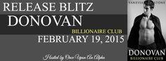 Willow's Author Love Blog: Donovan Release Blitz