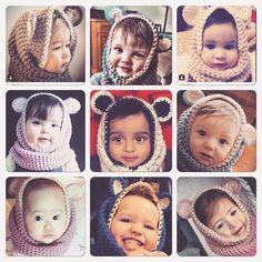 babybear capuchas acabado artículos solamente  por ilovesavvystuff