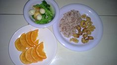 Menu sahur hari ke 8 Nasi beras merah, cumi goreng tepung, brokoli tumis tofu & telur puyuh