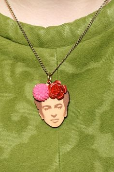 Tatty Devine Frida necklace        Perspex jewellery handmade in England