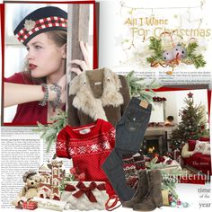 All spruced up - Edita Vilkeviciute, created by helleka on Polyvore