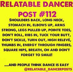 Tell me dance isn't a sport and I'll hitch kick you right between the eyes. Let me know how that makes you feel.