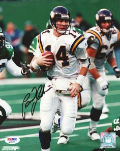 This is an 8x10 Photo that has been hand signed by Brad Johnson. The autograph has been certified authentic by PSA/DNA and comes with their sticker and matching certificate of authenticity.