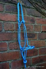 Rope halter from Justabitless Bridles