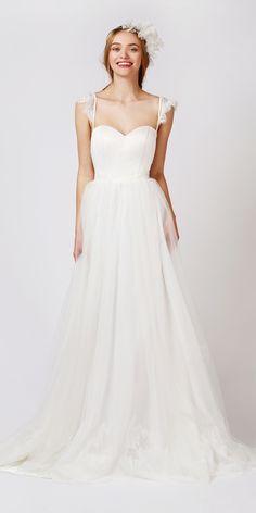Bridal Gown | The Babushka Ballerina | Bridal Gown Australia | Lace Cap Sleeve | Tulle | Twigs & Honey