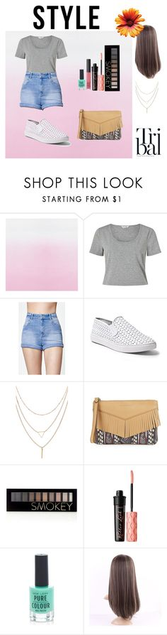 """Simplemente Ella"" by florencia6969 ❤ liked on Polyvore featuring Miss Selfridge, Kendall + Kylie, Steve Madden, Aimee Kestenberg, Forever 21, Benefit, New Look and NARS Cosmetics"