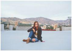Salt Lake City Downtown Urban Senior Photography | Keala Jarvis