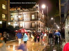La lluvia nocturna. / The overnight rain.