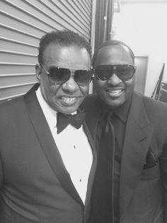 JG with Ron Isley