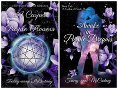 Fantasy Book Series - Traceyanne McCartney Fantasy Book Series, Fantasy Books, Purple Flowers, Book Worms, My Books, Novels, Carpet, Kitty, Dreams