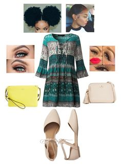"""""""cute park date ✨"""" by angeliqueamor on Polyvore featuring Gap, Kate Spade and Vince Camuto"""