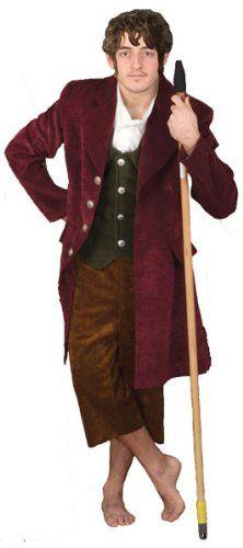 Brown & Red Hobbit Costume