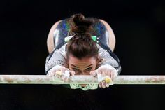 Erika Fasana of Italy competes on the uneven bars during Women's qualification for Artistic Gymnatics on Day 2 of the Rio 2016 Olympic Games at the Rio Olympic Arena on August 7, 2016 in Rio de Janeiro, Brazil. (Aug. 6, 2016 - Source: Tom Pennington/Getty Images South America)