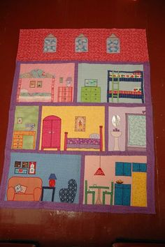 another dollhouse quilt