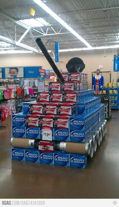 FIRE... jelouse of the Walmart associate who did this one!