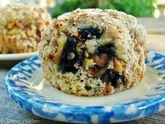 Blueberry Energy Muffins from @KatrinasKitchen