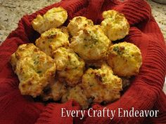 Every Creative Endeavor: How to make Red Lobster Cheddar Bay Biscuits