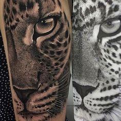 Leopard  Done by @samurico_tattoo . #Tattoo_artwork  . #tattoo #tattoos #tatt #tat #tattooing #tattooink #tattooart #tattooartist #art #artist #ink #inked #artwork #leopard