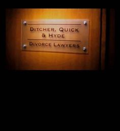 What a group of divorce lawyers