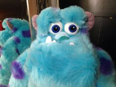 "Sulley Plush 15"" Monsters Inc. Disney Store Soft Lovable #Disney"