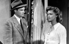 """Tom Neal and Ann Savage in """"Detour"""""""