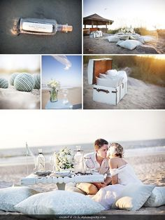 The Inspired Bride › 3 Casual Wedding Theme Ideas