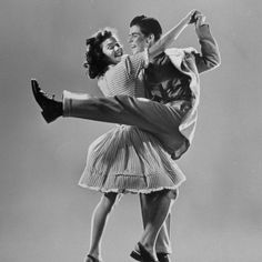 the lindy hop...my mom and dad were great dancers <3