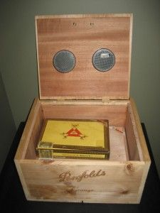 Making your own humidor.