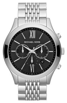 64786c269e19 Free shipping and returns on MICHAEL Michael Kors Michael Kors  Brookton   Chronograph Bracelet Watch
