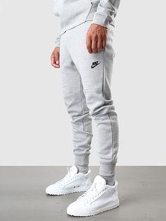 Nike - Tech Fleece Pant 1MM Dark Grey Heather Medium Grey Black 545343-064 | FreshCotton.com