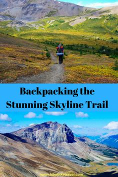 Hiking the Skyline Trail in Jasper National Park over three days