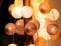 Girlanda świetlna White glow 35 kul