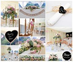 Dusty Pink Roses, Slate Hearts and Candelabra ~ Wedding Inspiration. Wedding at Boscundle Manor, St Austell, Cornwall. Cornwall wedding photography by Bex Photography ~. Hessian Bunting, Newquay Cornwall, Marquee Wedding, Amazing Weddings, Candelabra, Dusty Pink, Pink Roses, Slate, Wedding Inspiration