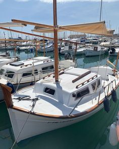 "Nùria's Instagram post: ""Mediterráneo, primavera 2019."" Balearic Islands, Wanderlust, Boat, Sky, Water, Instagram Posts, Outdoor, Image, Spring"