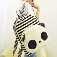 "Style:backpack Material:canvas Size:one size Height:41cm/16.14"" Width:29cm/11.41"" Thick:12cm/4.72"" Tips: *Please double check above size and consider your measurements before ordering,thank you ^_^ Visiting Store: Http://cuteharajuku.storenvy.com Find more cute fashion things,..."