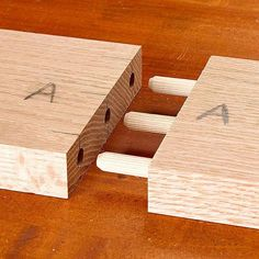 Different ways to join wood together!